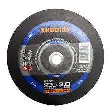 Τροχός Κοπής Rhodius 230×3.0 Σιδήρου