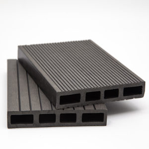 WPC DECK Περίφραξης Γκρί Σκούρο 3600x120x20mm
