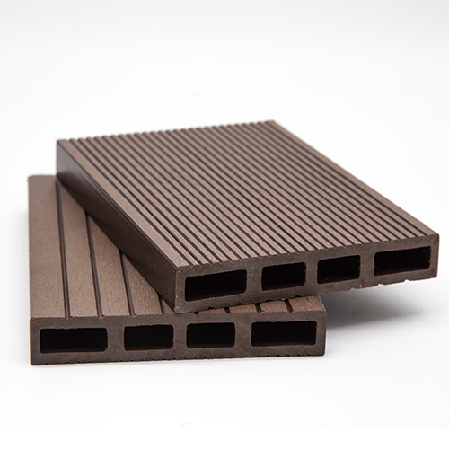 WPC DECK Περίφραξης Καφέ Σκούρο 3600x120x20mm