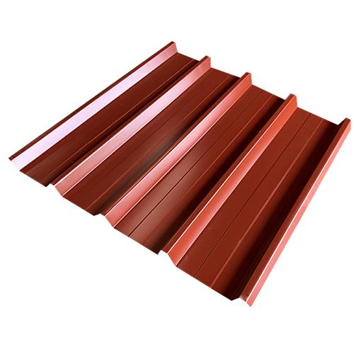 Λαμαρίνα Τραπεζοειδής 5 Κορυφών πάχους 0.35mm Χρώμα Κόκκινο