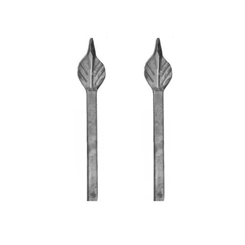 Λόγχη Φλόγα Φυλλαράκι Από Καρέ 12mm