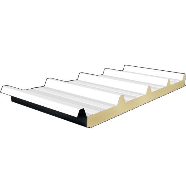 Πάνελ Οροφής Τραπεζοειδές πάχους 40mm Χρώμα Λευκό