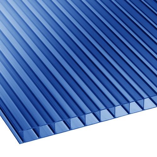 Πολυκαρβονικό Κυψελωτό 10mm Μπλέ 1.05×3.50m