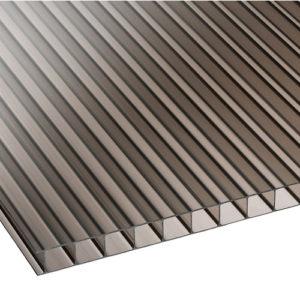 Πολυκαρβονικό Κυψελωτό 16mm Μπρονζέ 2.10×6.00m