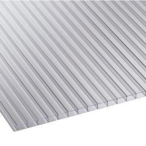 Πολυκαρβονικό Κυψελωτό 10mm Διάφανο 1.05×6.00m