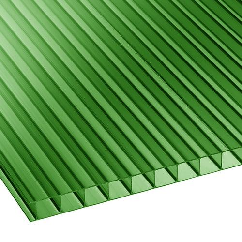 Πολυκαρβονικό Κυψελωτό 10mm Πράσινο 1.05×6.00m
