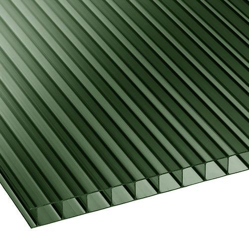 Πολυκαρβονικό Κυψελωτό 6mm Πράσινο σκούρο 2.10×6.00m