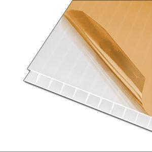 Πολυκαρβονικό Κυψελωτό 10mm Γαλακτερό 2.10×6.00m