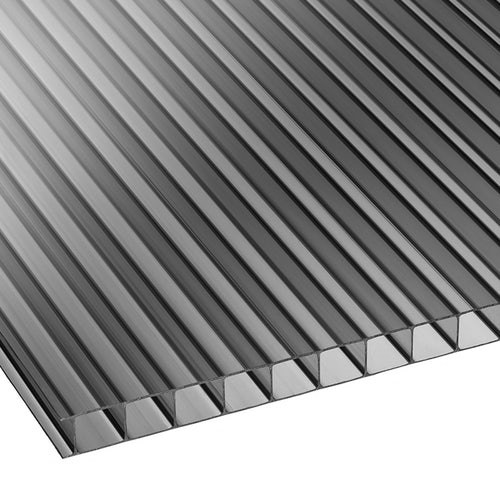 Πολυκαρβονικό Κυψελωτό 10mm Ανθρακί 2.10×6.00m