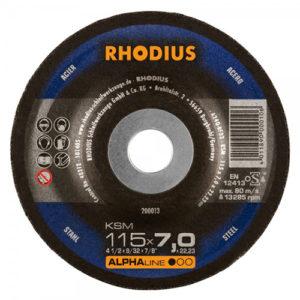 Τροχός Λειάνσεως Rhodius 115×7.0