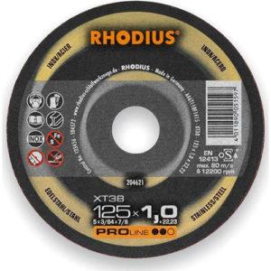 Τροχός Κοπής Rhodius 125×1.0 Inox