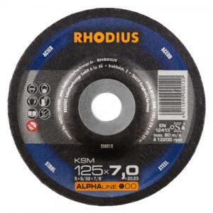 Τροχός Λειάνσεως Rhodius 125×7.0