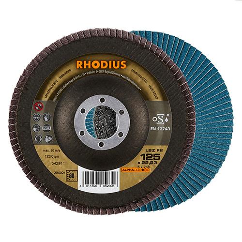 Τροχός Φτερωτός Rhodius 125 Grain 80