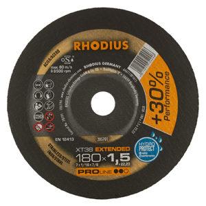 Τροχός Κοπής Rhodius 180×1.5 Inox