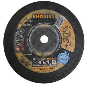 Τροχός Κοπής Rhodius 230×1.9 Inox