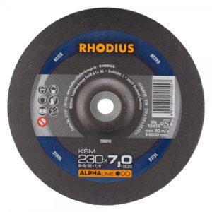 Τροχός Λειάνσεως Rhodius 230×7.0