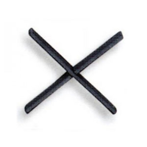 Χιαστό Απλό 12x6cm