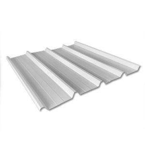 Λαμαρίνα Τραπεζοειδής 5 Κορυφών πάχους 0.32mm Χρώμα Λευκό