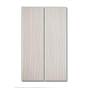 WPC DECK Πατώματος Λευκό 3900x150x25mm