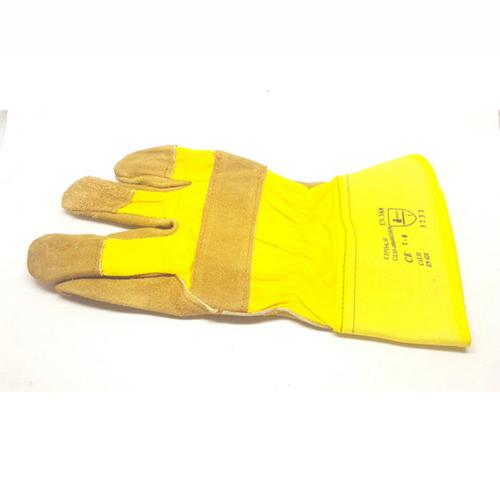 Γάντια Εργασίας Σιδεράδων Κίτρινο