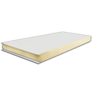 Πάνελ Πλαγιοκάλυψης Πάχους 80mm Χρώμα Λευκό