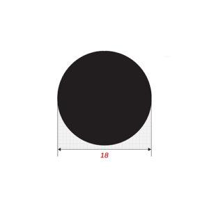 Στρόγγυλο 6m Μασίφ Φ18