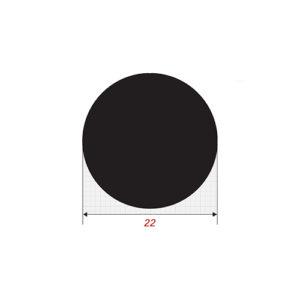 Στρόγγυλο 6m Μασίφ Φ22