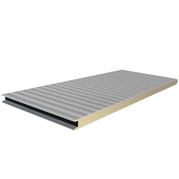 Πάνελ Πλαγιοκάλυψης πάχους 50mm Χρώμα Λευκό
