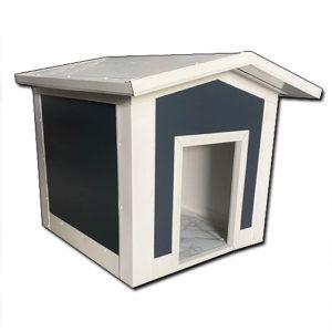 Σκυλόσπιτο με Δίριχτη Οροφή 100x100x80cm