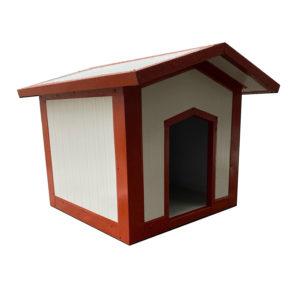Σκυλόσπιτο με Δίριχτη Οροφή 90x60x80cm