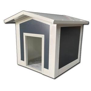Σκυλόσπιτο με Δίριχτη Οροφή 90x70x80cm