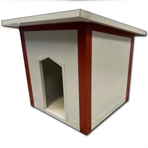 Σκυλόσπιτο με Επίπεδη Οροφή 140x120x90cm