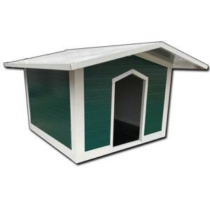 Σκυλόσπιτο με Δίριχτη Οροφή 100x100x100cm